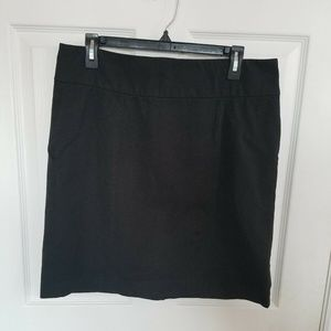 Banana Republic Black Stretch Work Pencil Skirt